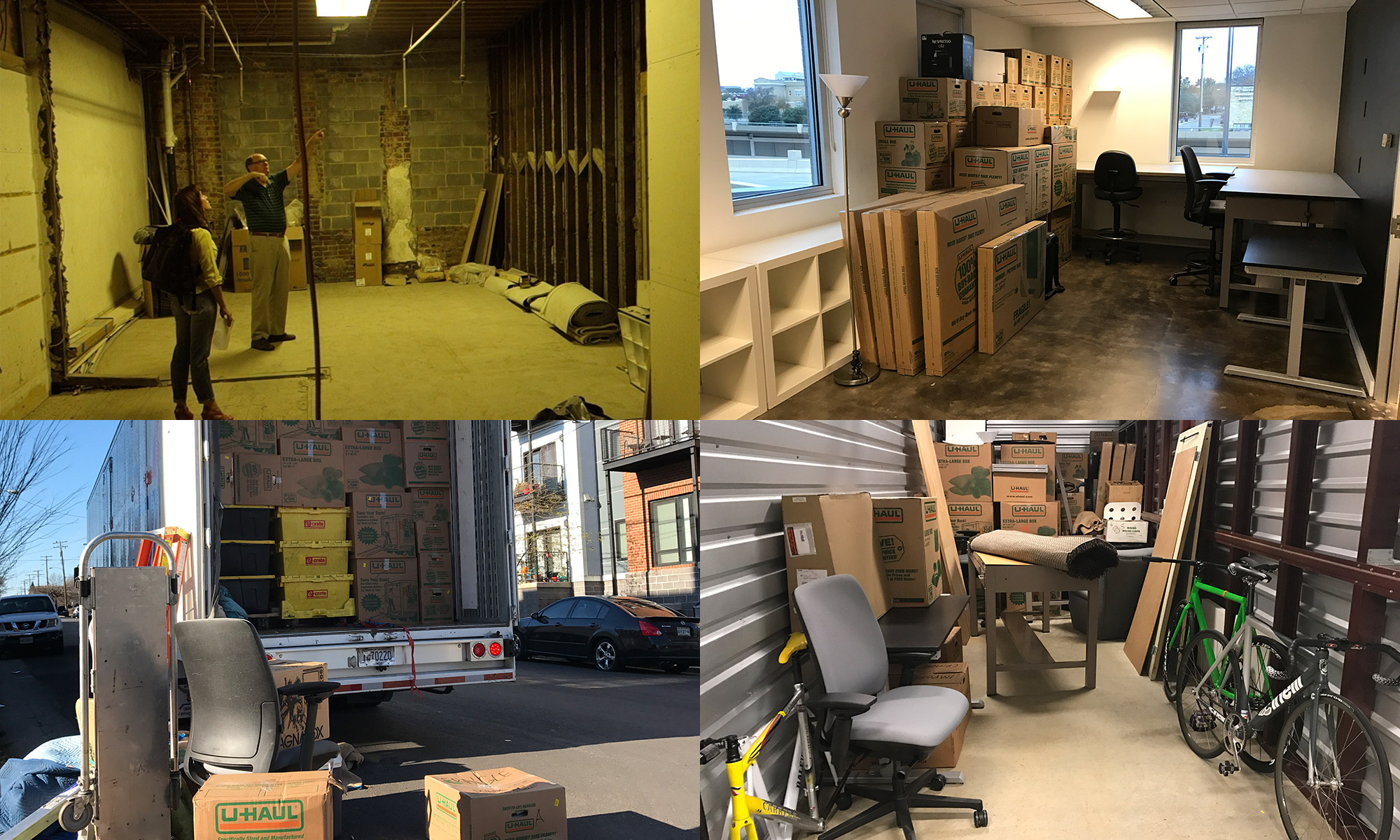 Design Business: Finding new space in Richmond, Virginia, packing, moving, and storing my office (2016)