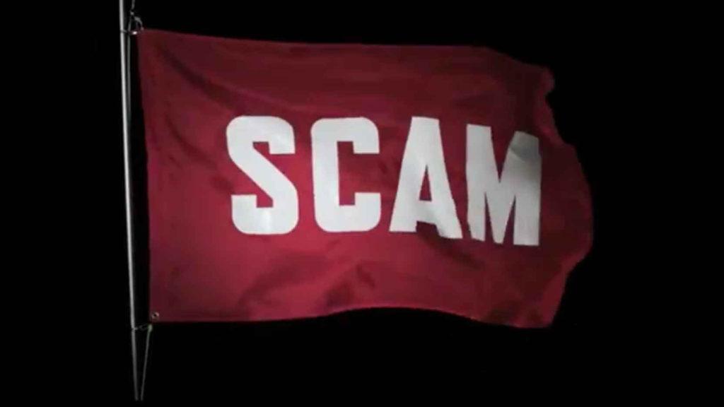 Scam Awareness - tv spot red flag