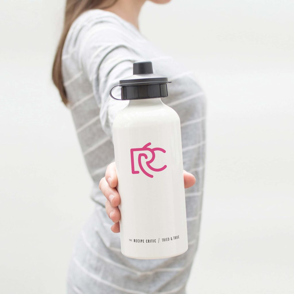 application example: water bottle