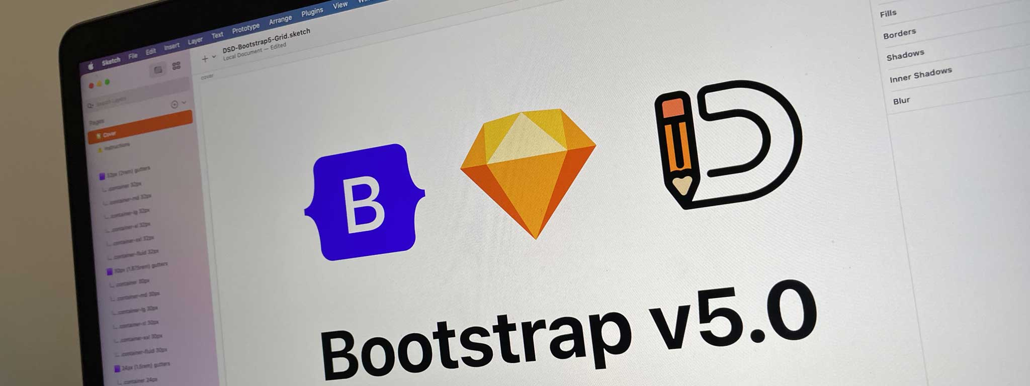 Bootstrap v5 Layout Grids for Sketch by Duane Smith Design