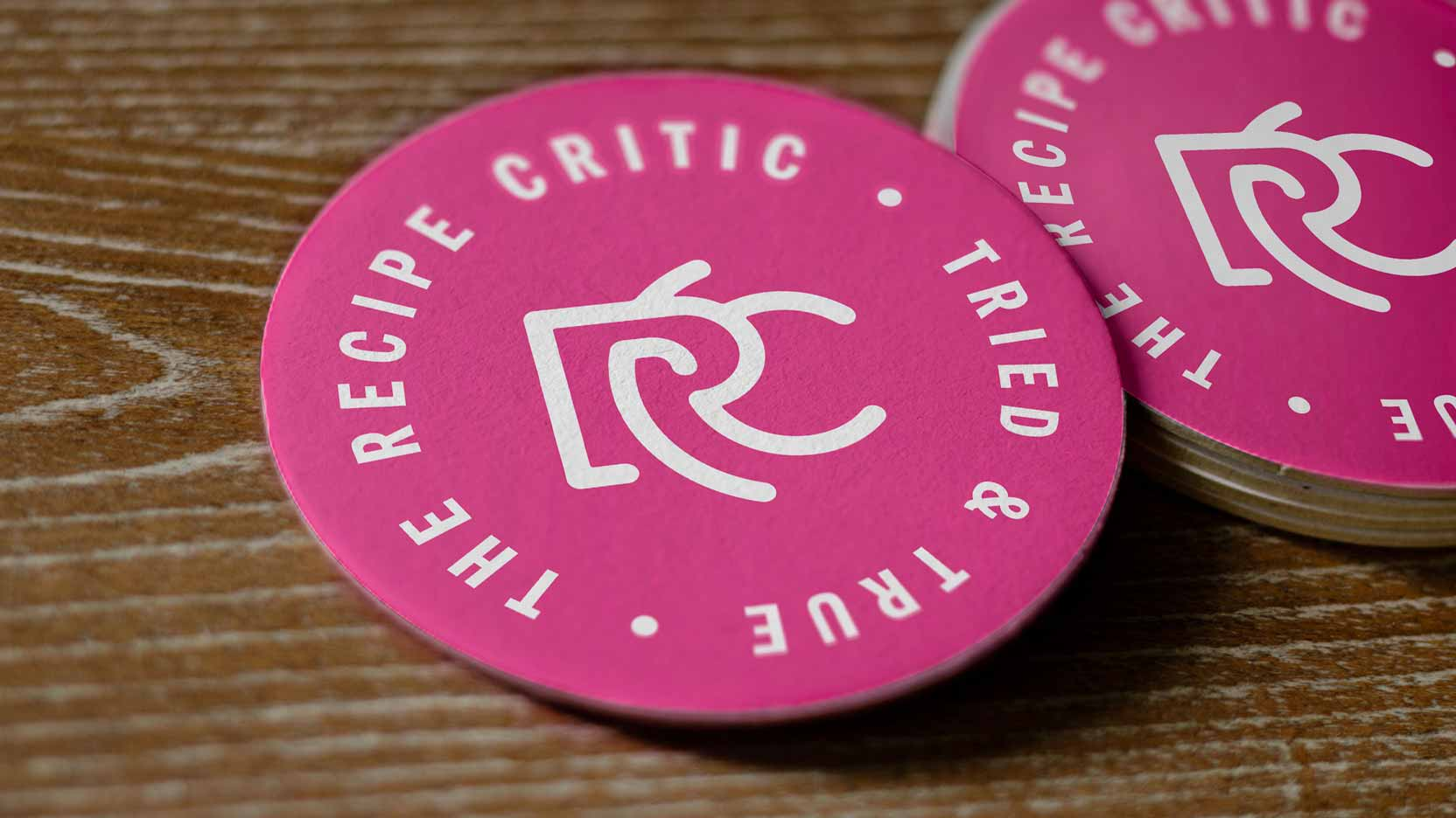 The Recipe Critic - coasters