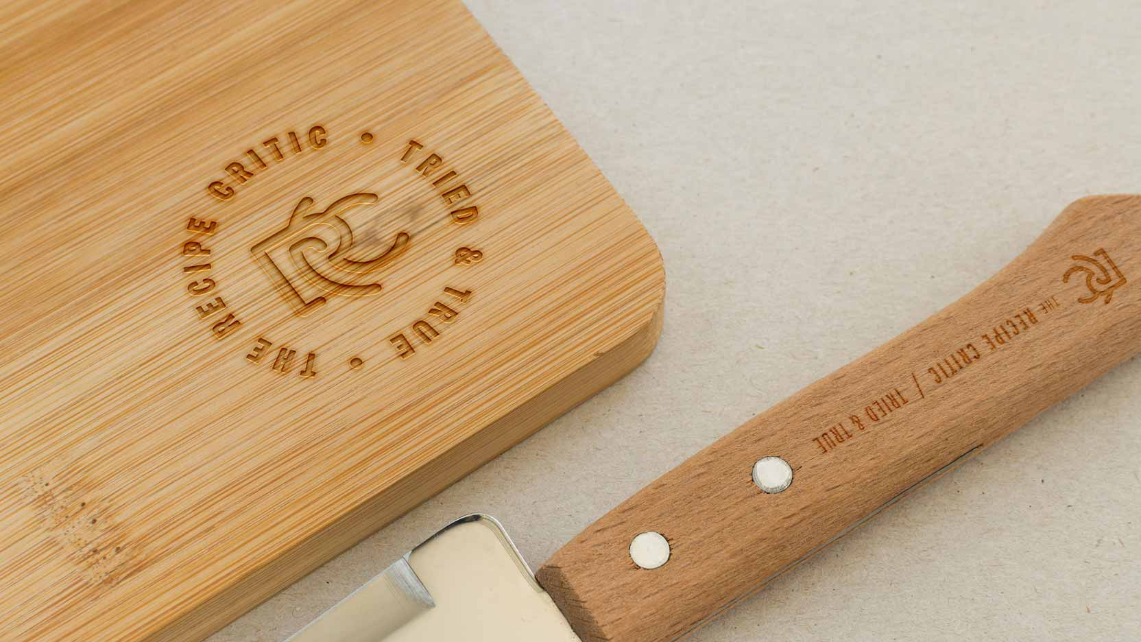 The Recipe Critic - cutting board