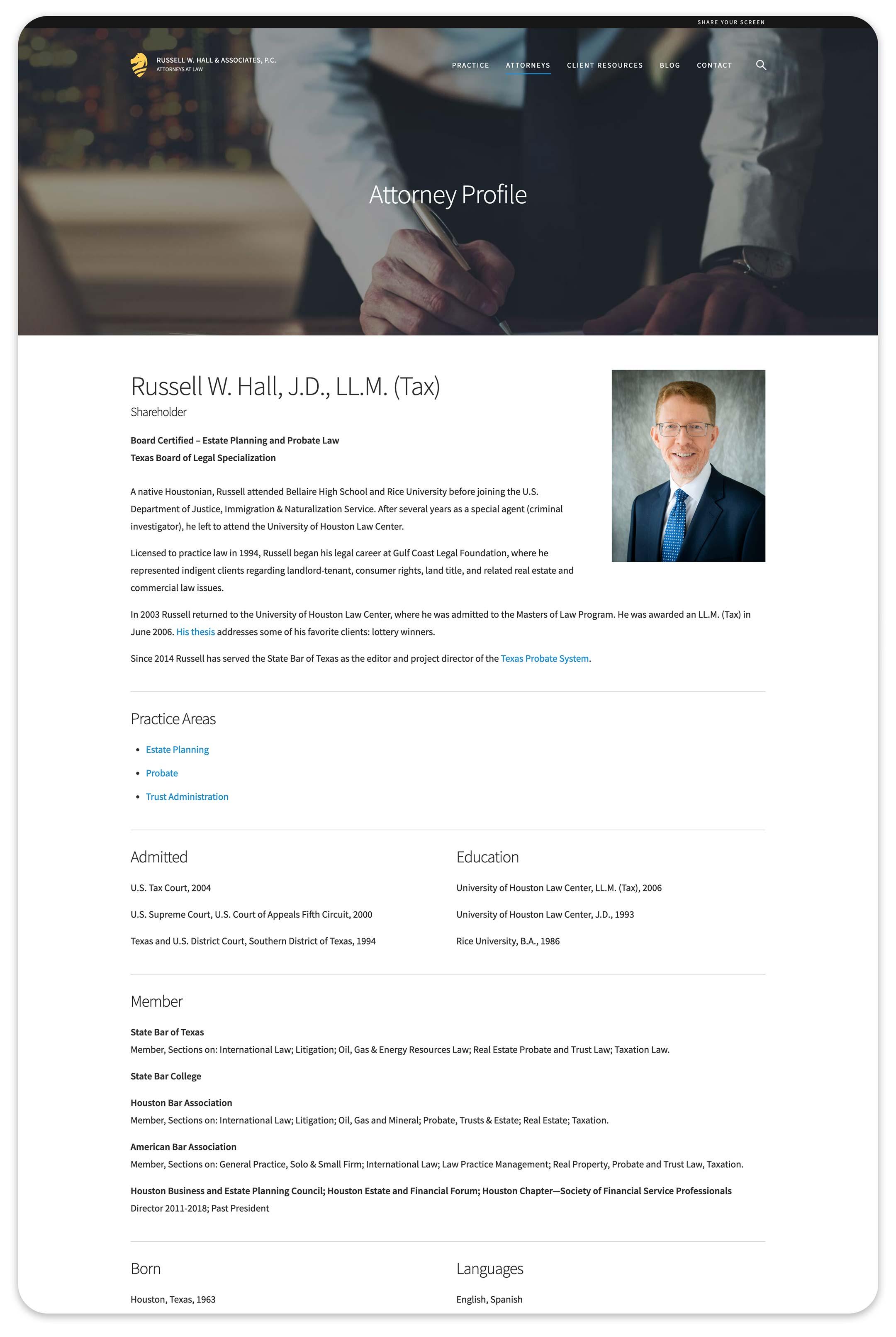 RWHPC attorney desktop